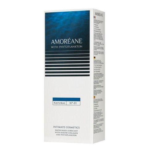 Лубрикант для секса на водной основе с фитопланктоном Amoreane Natural 100 мл