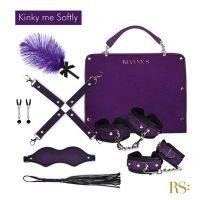 Подарочный набор для BDSM RIANNE S Kinky Me Softly Purple: 8 предметов для удовольствия