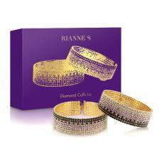 Лакшери наручники-браслеты с кристаллами Rianne S: Diamond Cuffs