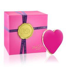 Вибратор-сердечко для клитора силиконовое розовое Rianne S Heart Vibe Rose