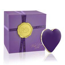Вибратор-сердечко для клитора силиконовый фиолетовый Rianne S Heart Vibe Purple