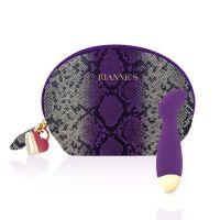 Мини-вибратор для точки G силиконовый фиолетовый Rianne S Boa Mini