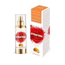 Разогревающее массажное масло с феромонами и ароматом манго MAI PHEROMON MASSAGE OIL 75 мл