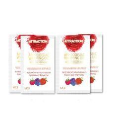 Пробник массажного масла с феромонами MAI PHEROMON MASSAGE OIL RED FRUITS 10 мл