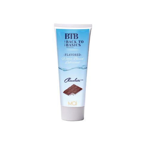 Лубрикант на водной основе с ароматом шоколада BTB FLAVORED 75 мл