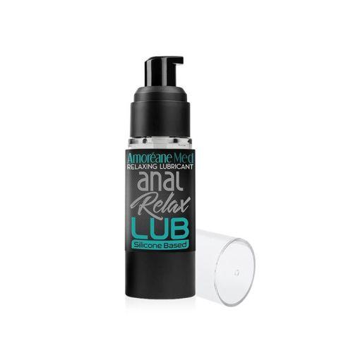 Анальная смазка силиконовая основа натуральные экстракты с дозатором Amoreane Anal Relax 30 мл