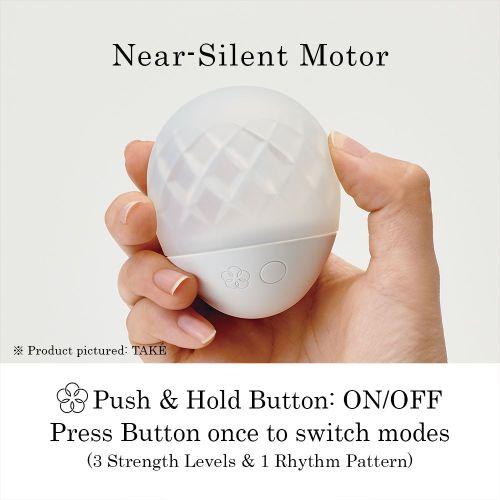 Вибростимулятор  и светильник для эрогенных зон белый IROHA Ukidama Take