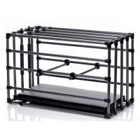 Прочная разборная клетка для БДСМ наказаний Kennel Adjustable Bondage Cage