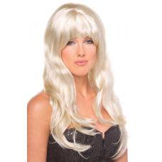 Парик эротический длинные блонд для ролевых игр Be Wicked Wigs Burlesque Wig