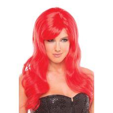 Парик эротический длинные красные для ролевых игр Be Wicked Wigs Burlesque Wig