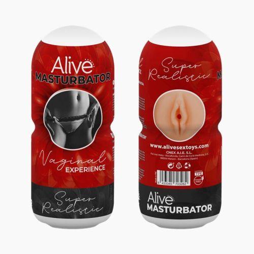 Мастурбатор-вагина для пениса Alive Vaginal Experience