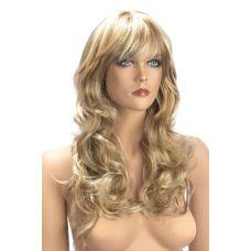 Парик эротический длинные кучерявые блонд для ролевых игр World Wigs ZARA