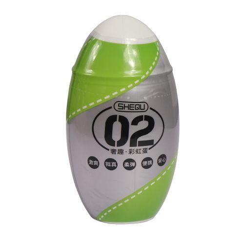 Мастурбатор зеленого цвета Travel Cup masturbator