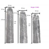 Набор насадок на член Textured Penis Sleeves