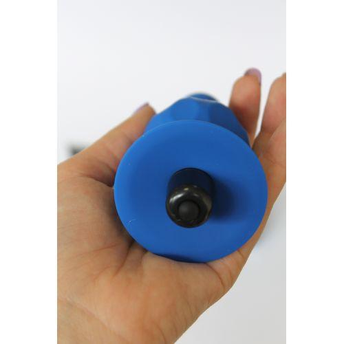 Втулка анальная с вибрацией Sweet Toys L 100 мм D 25x45 мм, цвет синий