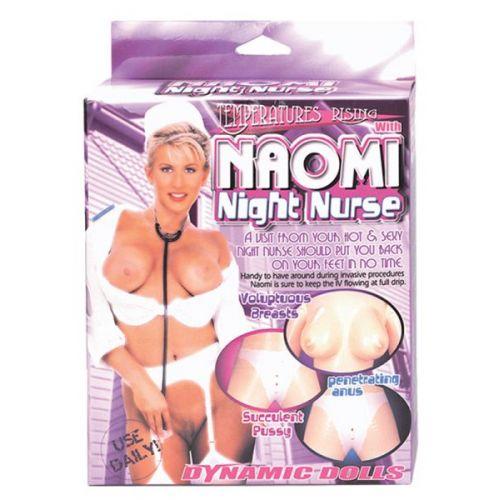Секс кукла резиновая медсестра Naomi Night Nurse with uniform