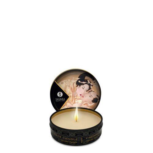 Свеча для массажа с ароматом ванили 30 мл