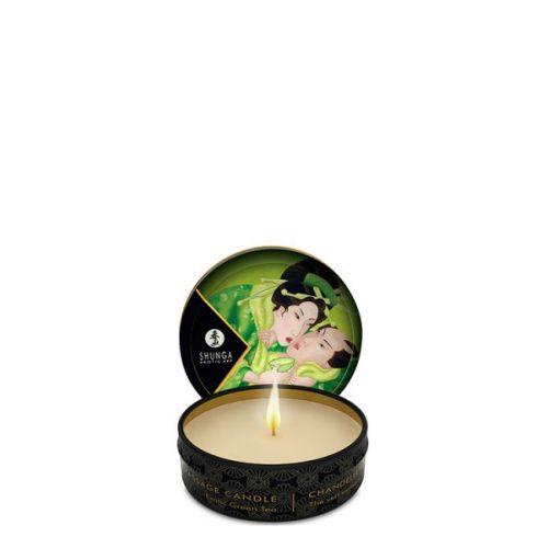 Свеча для массажа с ароматом зеленого чая 30 мл