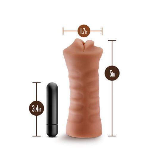 Мастурбатор ротик для пениса M FOR MEN ISABELLA MOCHA