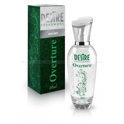 Духи-спрей унисекс с феромонами DESIRE De Luxe Platinum OVERTURE 30 мл цветочно-восточный аромат