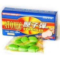 Возбуждающие таблетки для мужчин Атомная Бомба 10 шт в упаковке