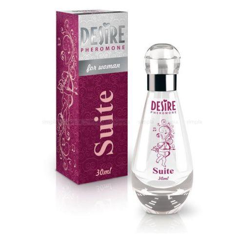 Духи-спрей женские с феромонами DESIRE De Luxe Platinum SUITE 30 мл цветочно-ориентальный