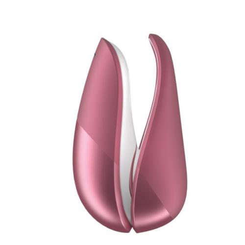 Бесконтактный вакуумный стимулятор клитора розовый Womanizer (Вуманайзер) Liberty