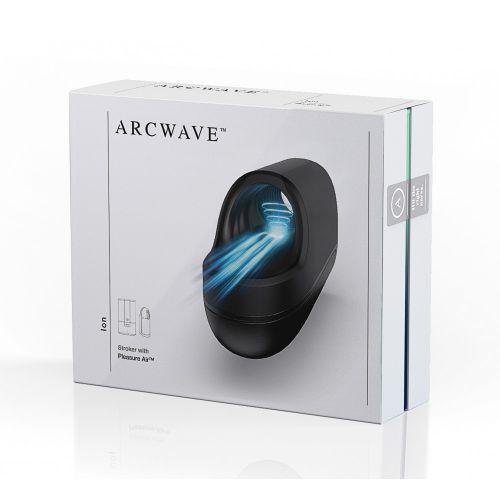 Mастурбатор автоматический мужской для члена черный Arcwave Ion с волновой стимуляцией