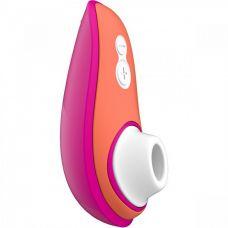 Бесконтактный вакуумный массажер для клитора Womanizer (Вуманайзер) розовый Liberty by Lily Allen