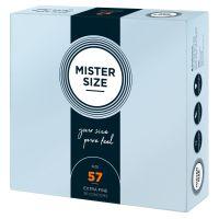 Презервативы Mister Size 57 mm (мм) 36 штук Мистер Сайз