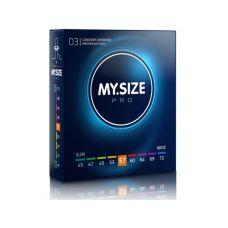 MY SIZE PRO презервативы 57 мм 3 штуки Май Сайз Про веганские