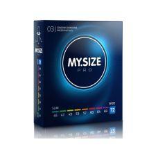 MY SIZE PRO презервативы 72 мм 3 штуки Май Сайз Про тонкие