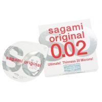 Полиуретановый презерватив Sagami Оriginal тонкие 0,02 (Сагами Оригинал) 1 шт