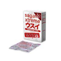 Презервативы Sagami Xtreme Superthin 0,04 (Сагами Экстрим Супертонкие) латексные 3 шт